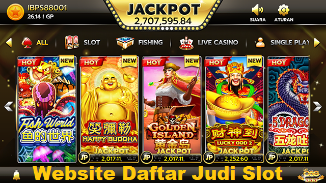 Website Daftar Judi Slot OSG777